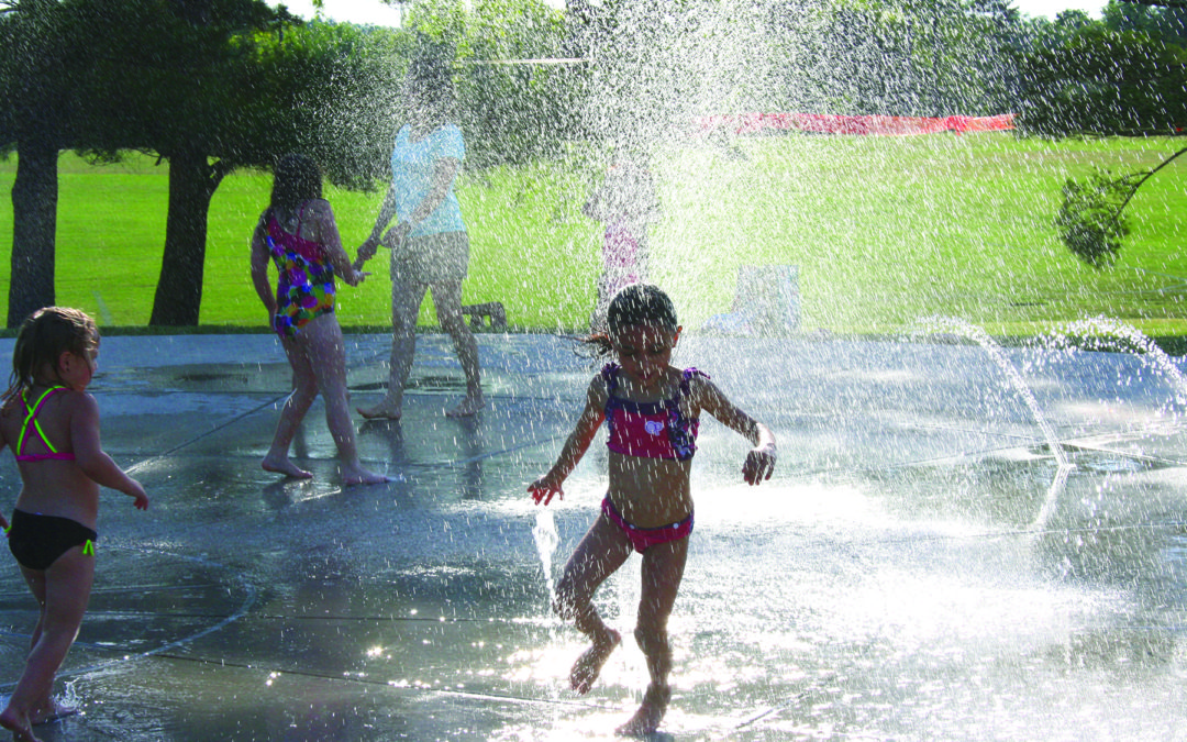 Kiddie Campus hosts Splash Pad Day