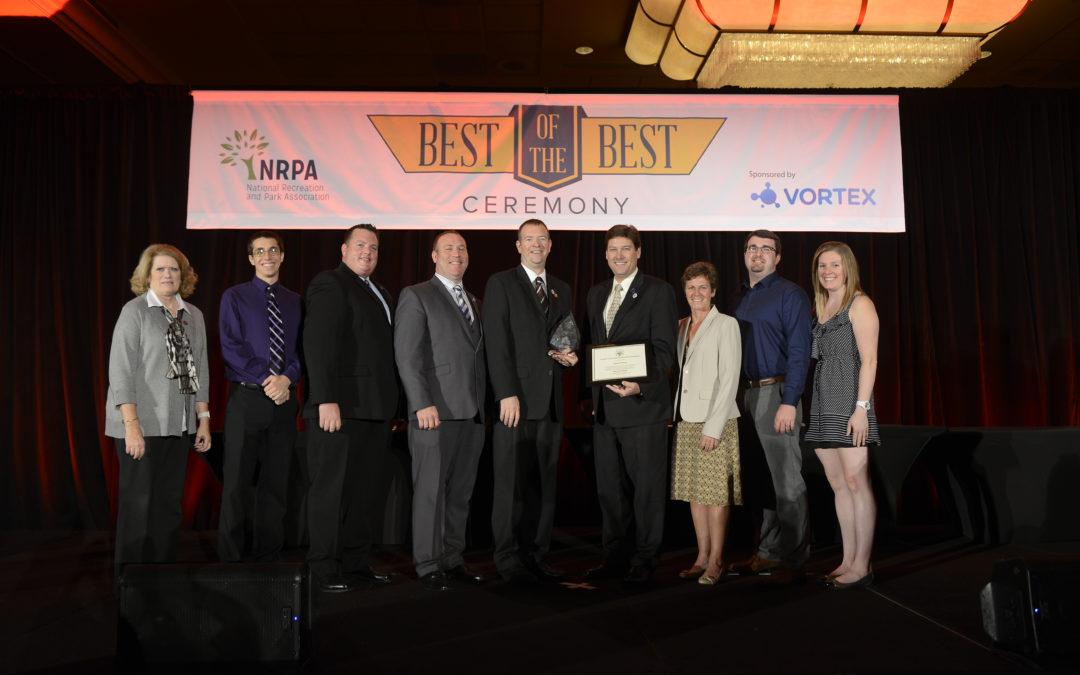 Lombard Park District Earns GFOA Award and CAPRA Accreditation