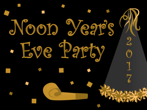 Noon Year's Eve Party
