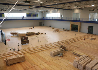 03/27 Gym Floor Progress