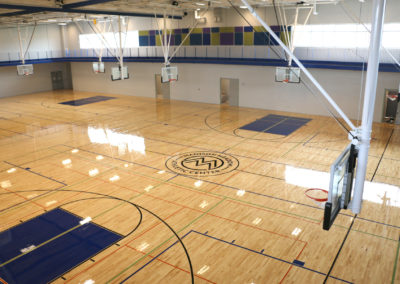 04/04 Gym Floor Sealing