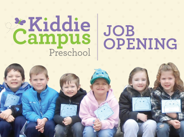 KC Preschool Job Opening
