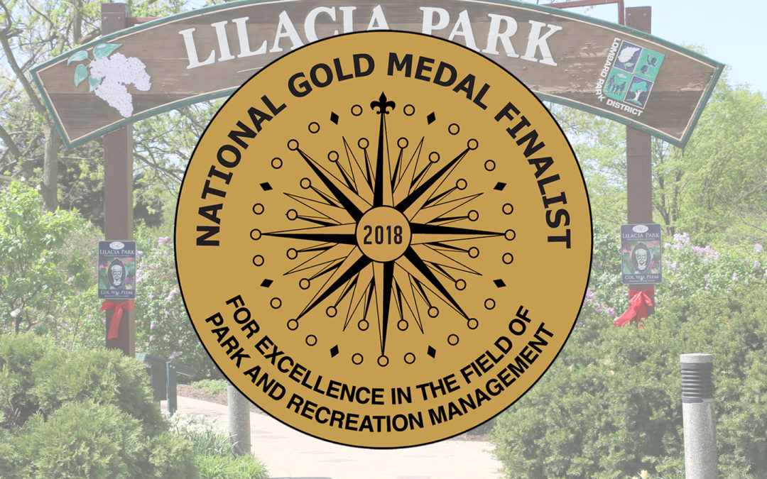 Lombard Park District Honored as 2018 National Gold Medal Finalist